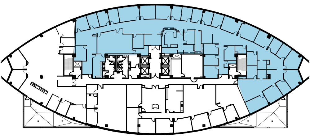 Suite 810 floor plan